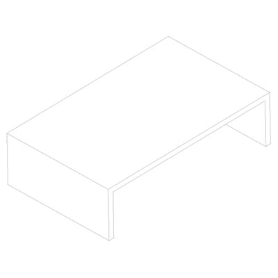 Material Coffee Table.Elements Coffee Tables Nature Squared